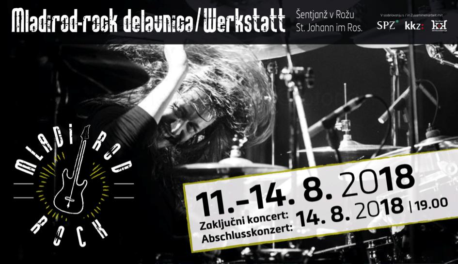 Mladirod-rock delavnica - Bild | Slika